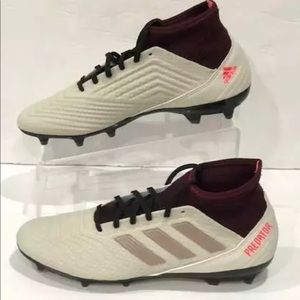 Adidas 18.3 predator women's soccer cleats 9.5